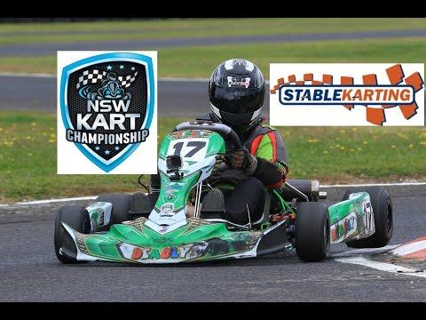 ORANGE GOKART STATE TITLES, Lachlan Ward Kart #17 (KA4 JH) Stable Karting