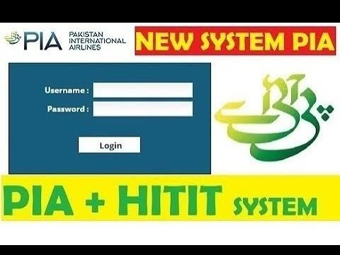 PIA New Booking System For Agent 2020    PIA New System2020