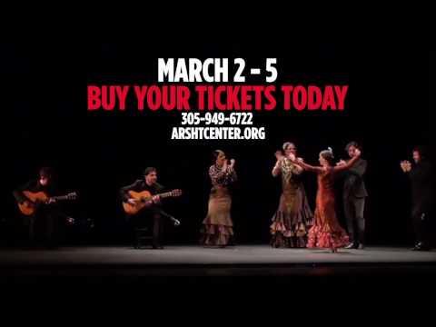 Flamenco Festival Miami 2017 at the Adrienne Arsht Center