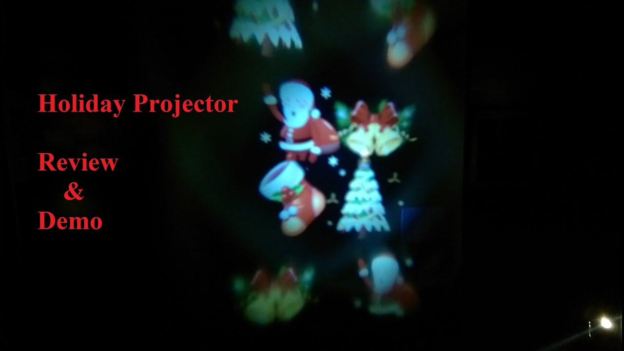 laser projector holiday and party decorations with 12 changeable lens youtube - Laser Projector Christmas Lights