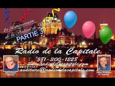 RADIO DE LA CAPITALE, 2ème Anniversaire, Partie 3, 20/02/2016
