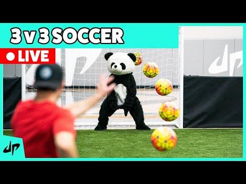 LIVE: The DP Quarantine Classic - 3 v 3 Soccer