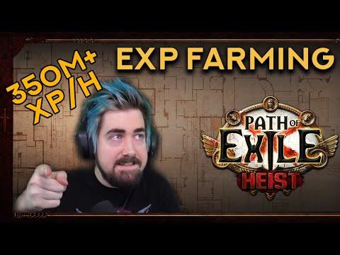 350m+ EXP Per Hour At Lvl 95! - Heist EXP Farming Trick