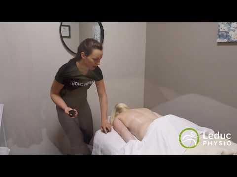 Hot Stone Massage Therapy at Leduc Physio