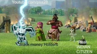 MODI (NO black MONEY) - Clash of Clans Virsion !!!!!!!!!
