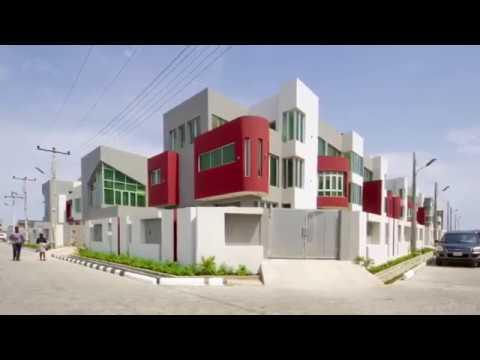 Beautiful houses in Lagos Nigeria