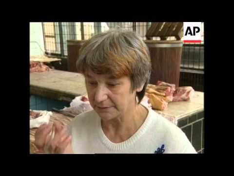 RUSSIA: MOSCOW: ILLEGAL MEAT IS BEING IMPORTED