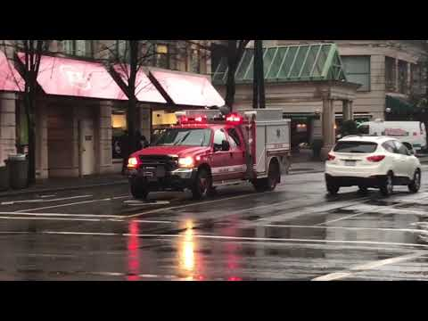 Vancouver Fire & Rescue Services - Wildlands 7 Responding (x2)