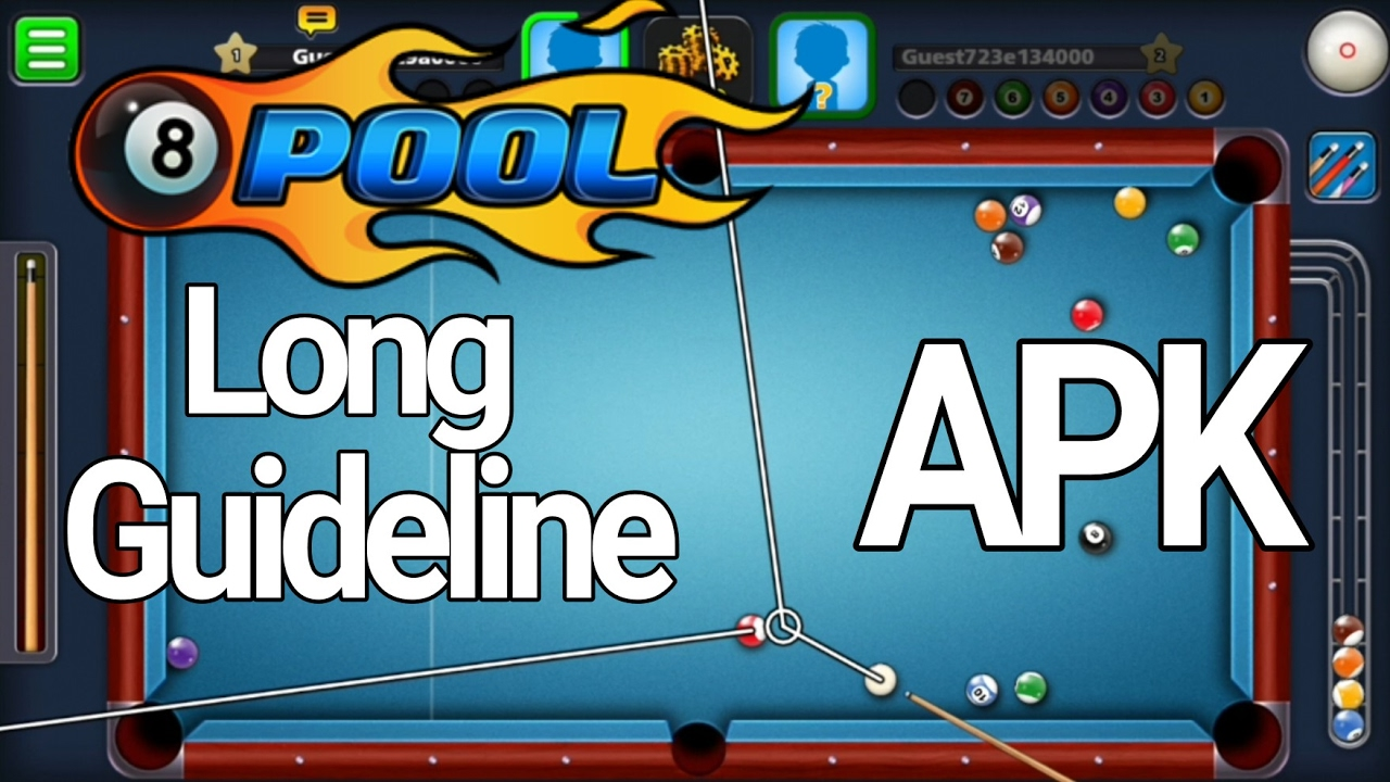 8 ball pool unlimited guideline apk latest version