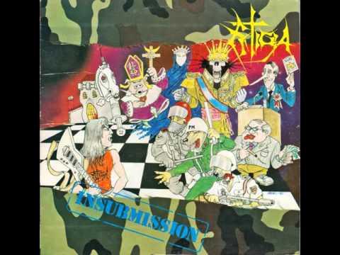 Estigia - Insubmission [Full Album] 1990