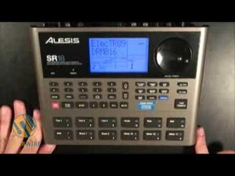 Alesis SR18: Make Like Patrick Duffy And Goes Step-By-Step