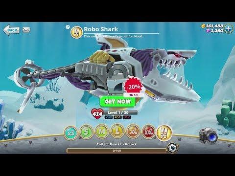 Hungry Shark World Robo Shark Android Gameplay