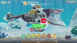 Hungry Shark World Robo Shark Android Gameplay