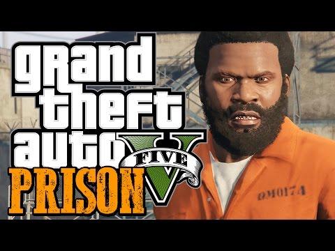 GTA 5 - ESCAPING FROM PRISON - GTA 5 Prison Mod (GTA 5 Funny Moments w/ Mods)