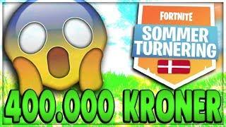 VINDER 400.000 KRONER   Danske Fortnite Highlights #188