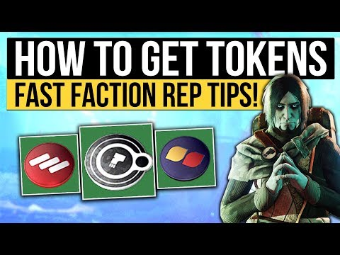 Destiny 2 | FACTION TOKENS FAST & EASY! - Supply Drop Event, Faction Ghost Buffs & Farming Tips!