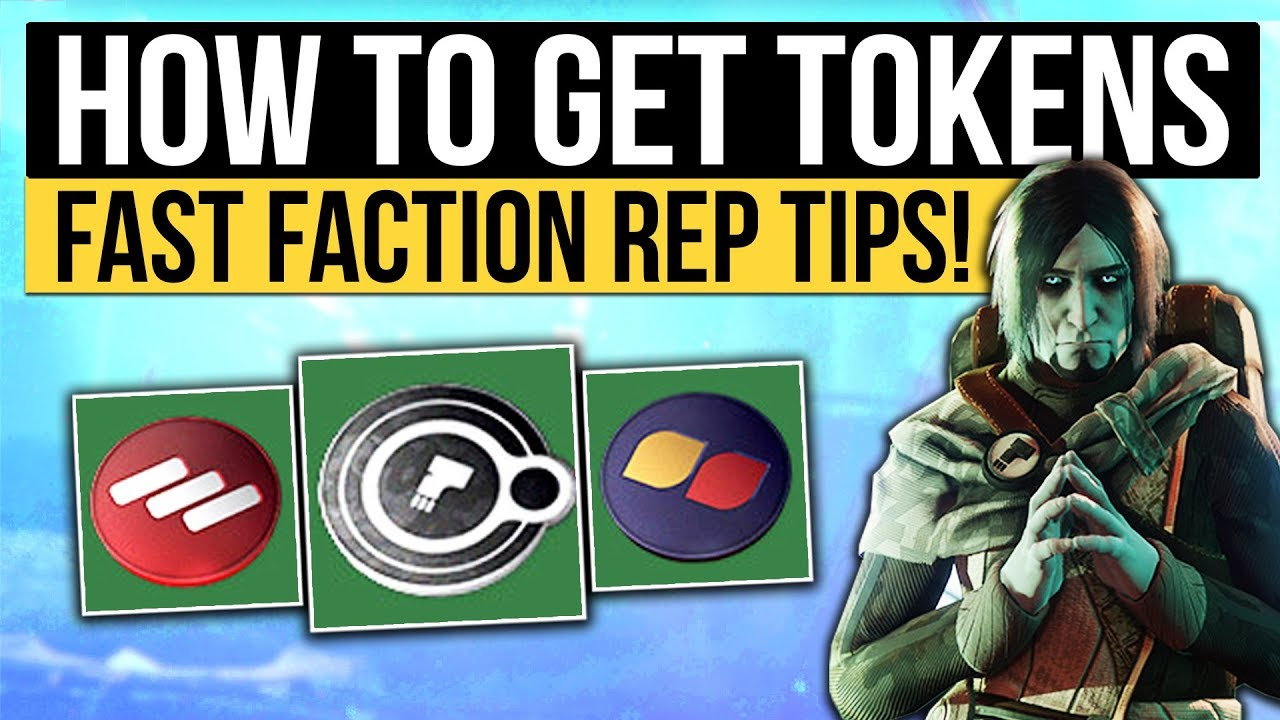 best way to farm faction tokens destiny 2 2019 Destiny 2   FACTION TOKENS FAST & EASY!   Supply Drop Event