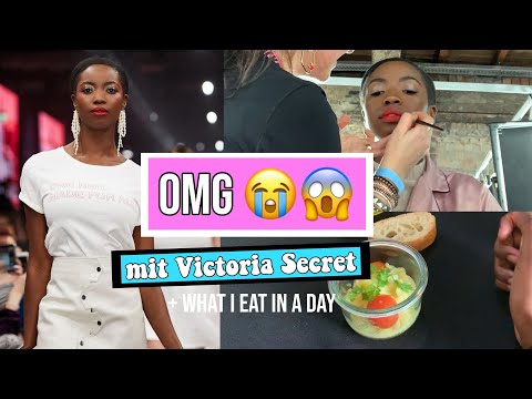 OMG Ich laufe mit Victoria Secret Models 😳& what I eat in a day | Abigail