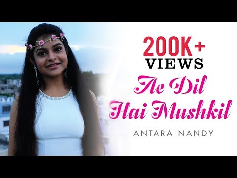 Ae Dil Hai Mushkil | Arijit Singh | Cover Song By Antara Nandy / Keethan