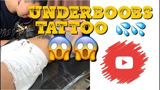 Underboobs Tattoo by Reigie Root Studio || Julia Mango♥️