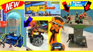 Fortnite Season 8 Toys BATTLE BUS Playset ACTION FIGURES Nerf LEAKED
