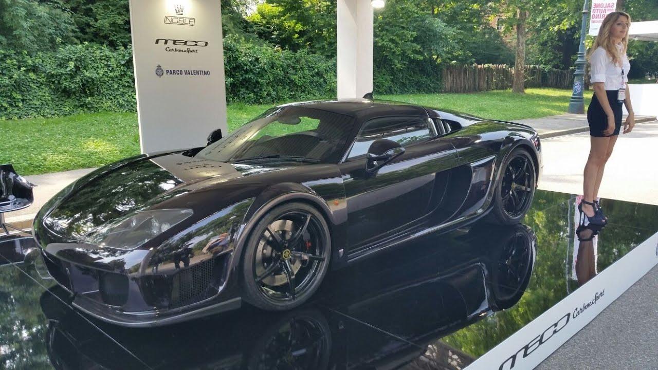 Noble m600 carbon sport parco valentino