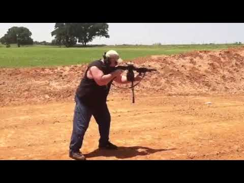 Scott Caster full auto. Mad min with gun
