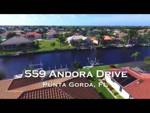 Punta Gorda Waterfront Homes For Sale | 559 Andora Dr