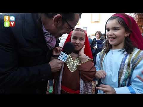 Inaugurado el belén viviente del Colegio Salesianos