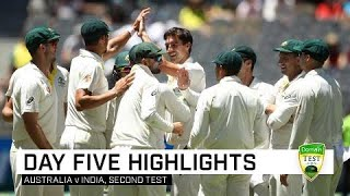 Aussie romp to Perth win on final day | Second Domain Test