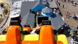 The Serpent roller coaster in Wildwood, NJ.