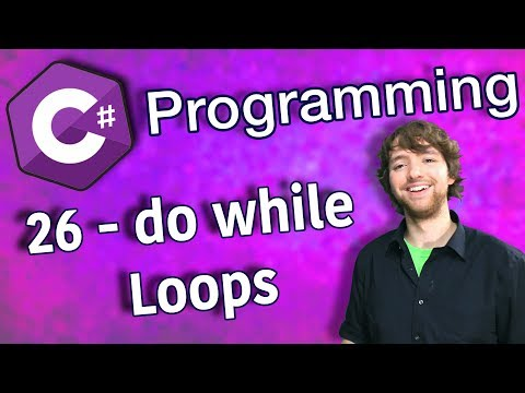 C# Programming Tutorial 26 - do while Loops thumbnail