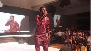 Kenny Blaq Funny Moments on Stage as Olamide  Others PerformsNigerian Entertainment