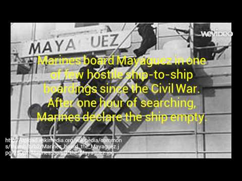 LOV Video Project: The Mayaguez Incident Pt. 1