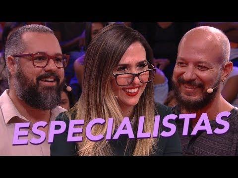 MELHORES MOMENTOS   Entrevista com Especialista   Lady Night   Humor Multishow