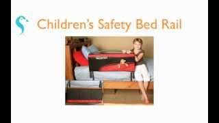 Children's Safety Bed Rail