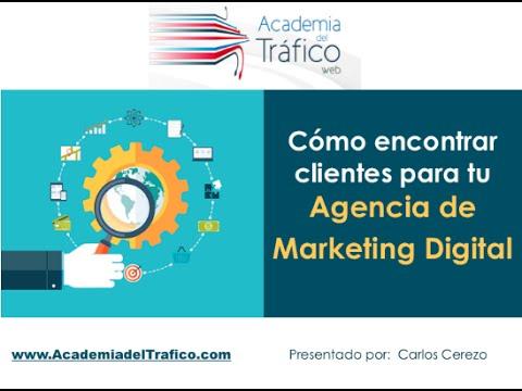 Webinar  Cómo encontrar clientes para tu Agencia de Marketing Digital