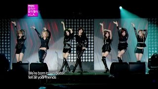 【TVPP】SNSD - The Boys, 소녀시대 - 더 보이즈 @ Korean Music Wave in L.A Live