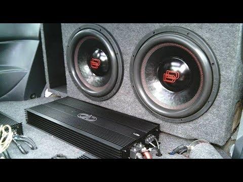 2 DD Audio 12s on DD M3b Amp || Clean Car Audio Install