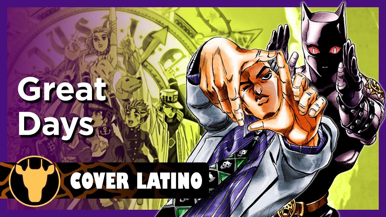 JoJo's Bizarre Adventure - Great Days Units Ver. (Cover Latino)