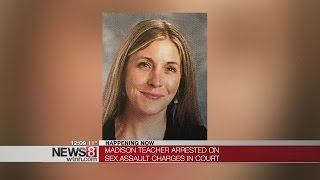 Madison teacher pleads not guilty to sex w/ students