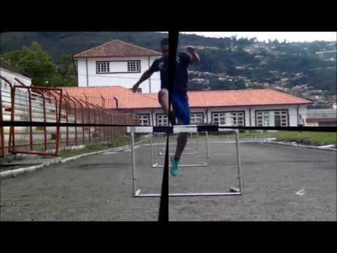 Ejercicios para enseñanza de Salto de vallas (Atletismo UP / 2013)
