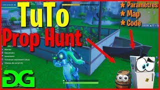 Tuto Mode Prop hunt creation in creative setting, Map, Code on Fortnite