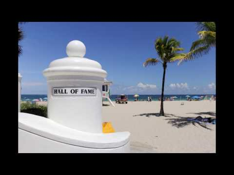 Hall of Fame Drive Beach Area Pics and Beach Video, Fort Lauderdale, FL