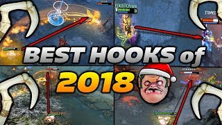Dota 2 Pudge Moments [BEST HOOKS OF 2018]
