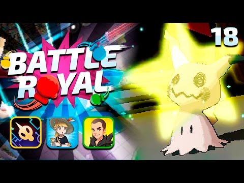 FREE KILL - Pokemon Sun and Moon WiFi BATTLE ROYAL #18 w/ GameboyLuke, FeintAttacks & UnlawfulExile