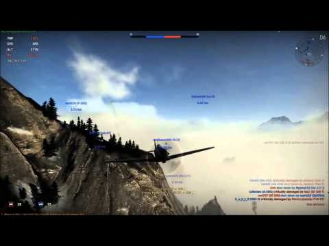War Thunder: MC 202 and Bf 109 Fight in the Fog