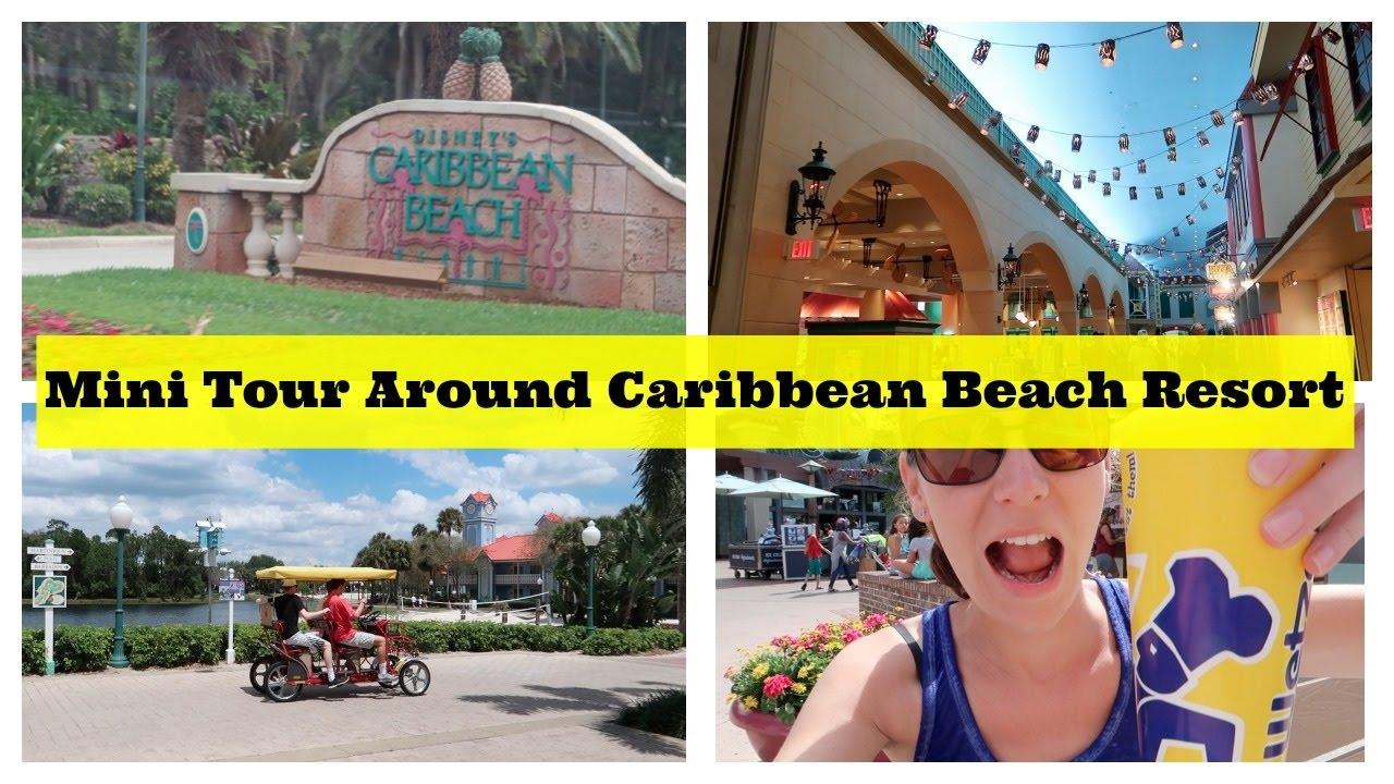 Mini Tour Around Disneys Caribbean Beach Resort L Disney CRP