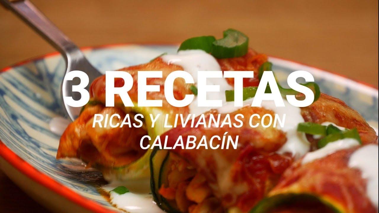 recetas ricas con calabacin