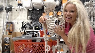HALLOWEEN SHOPPING AT TARGET! (FOLLOW ME AROUND)